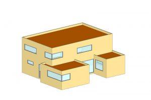 kantoorgebouw voorbeeld